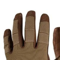 Helikon Direct Action Hard Gloves - Leather/Coyote Brown